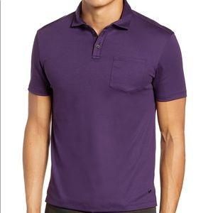 John Varvatos Burlington Classic Fit  Polo Shirt